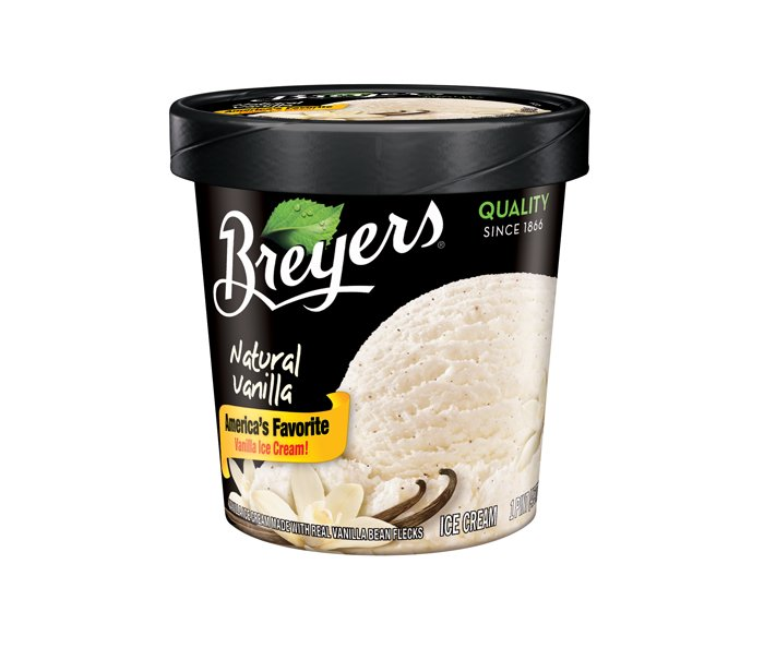 Breyers Ice Cream Natural Vanilla