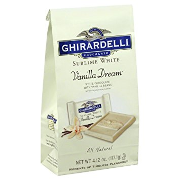 Ghirardelli Chocolate Sublime Vanilla Dream White Chocolate