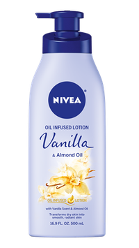 NIVEA Vanilla & Almond Oil Infused Lotion