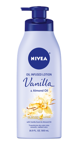NIVEA Vanilla & Almond Oil Infused Lotion