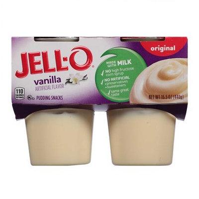JELL-O Vanilla Pudding Snacks