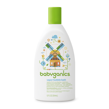 Babyganics Good Night Bubble Bath, Orange Blossom