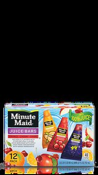 Minute Maid® Variety Pack Juice Bars (Orange, Cherry and Grape)