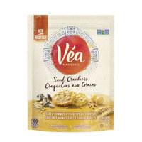 Véa Snacks Greek Hummus & Olive Oil Seed Crackers