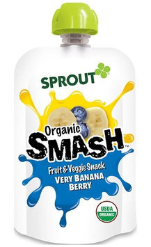 Sprout Organic SMASH Fruit & Veggie Snack - Very Banana Berry