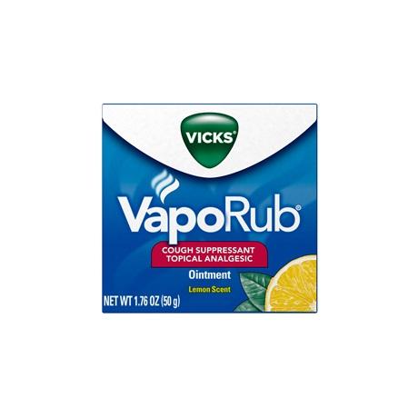 Vicks® VapoRub™ Topical Cough Suppressant With Lemon Scent