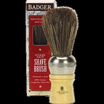 BADGER® Vie-Long Cachurro Horse Hair Shaving Brush