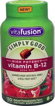 Vitafusion™ Simply Good™ Vitamin B-12 Pomegranate Dietary Supplement Gummies