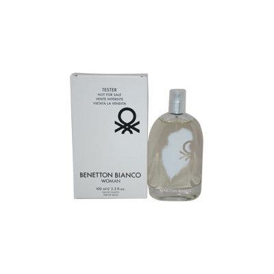 BENETTON BIANCO by Benetton EDT SPRAY 3.4 OZ *TESTER