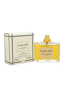 Sublime By Jean Patou Edt Spray 2.5 Oz *Tester