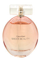 Sheer Beauty by Calvin Klein for Women - 3.4 oz EDT Spray (Unboxed)