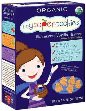MySuperSnacks MySuperCookies Cookies - Blueberry Vanilla Heroes