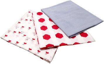 Masala Baby Chickies Swaddle Wrap Set- Red