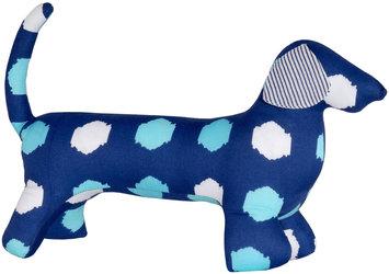 Masala Baby Buddy Dog Kolam Ikat Dots Navy