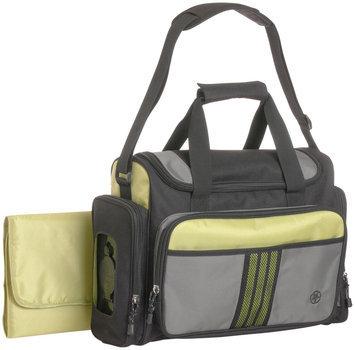 Jeep Perfect Pockets Sport Duffle Diaper Bag - Green/Black