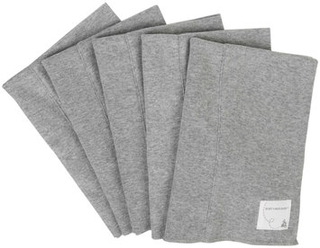 Burt's Bees Baby 5 Pack Burp cloths (Baby) - Heather Grey