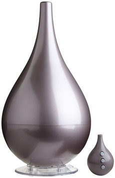 Objecto H4 Hybrid Humidifier with Aroma Therapy, Metallic Grey