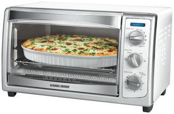 Applica Incorporated/dba Black & Decker Black & Decker - Slice Toaster Oven, White
