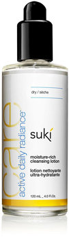 suki moisture-rich cleansing lotion, 120 ml