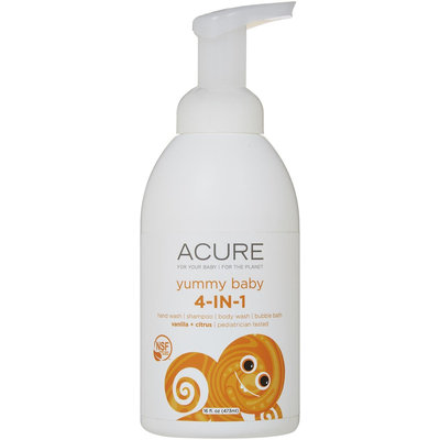 Yummy Baby 4 in 1 Sunscreen Acure Organics 16 oz Lotion