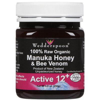 Wedderspoon Organic Organic Manuka Honey Active 12+ w/Bee Venom