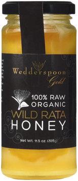 Wedderspoon Organics, 100% Raw Organic Wild Rata Honey 325g