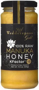 Wedderspoon Organic 100 Raw Manuka Honey KFactor 16