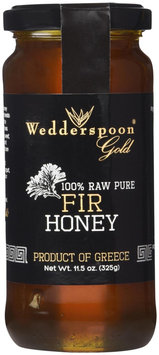 Wedderspoon Organic 100 Raw Pure Fir Honey