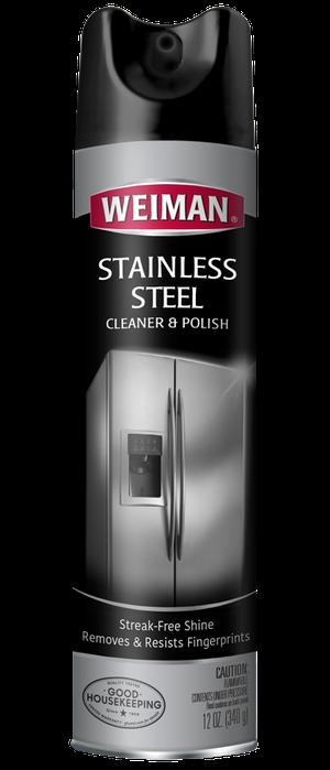 Weiman Stainless Steel Cleaner & Polish Aerosol