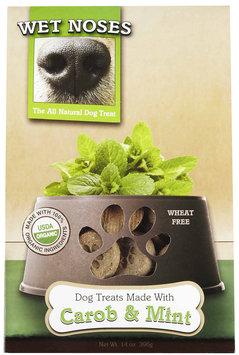 Wet Noses Organic Dog Treat Carob and Mint