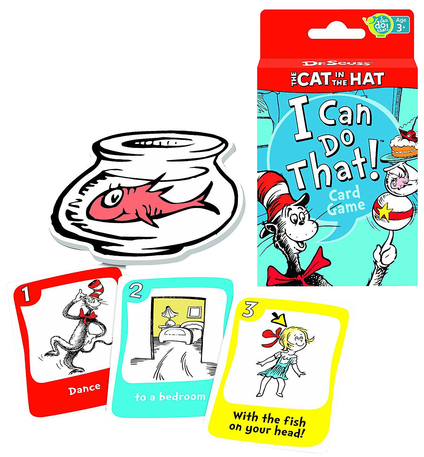 Wonder Forge I Can Do That! Games: Dr. Seuss Cat in the Hat Car - 1 ct.