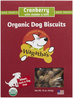 Wagathas Dog Biscuit Cranberry Cheese