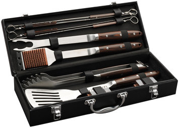 Cuisinart 10 Piece Premium Grilling Set with Case