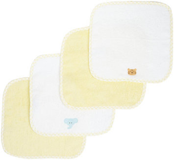Spasilk Woven Washcloths - 4 pk - Yellow