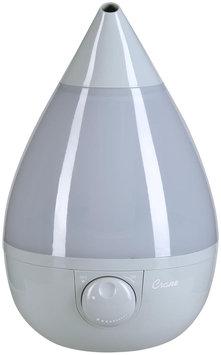 Crane - 1-gal. Ultrasonic Drop-shape Humidifier - Gray