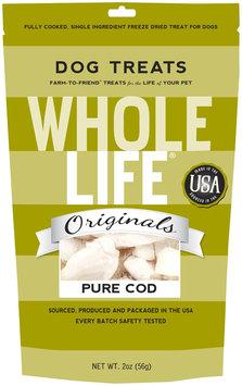 Whole Life Freeze-Dried Dog Treats Cod 2 oz