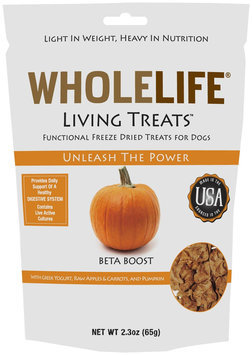 Whole Life Pet Products Whole Life Living Treats for Dogs Pumpkin 2.3 oz