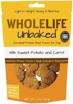 Whole Life Pet Products Whole Life Unbaked Dog Treats Sweet Potato & Carrot