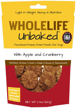 Whole Life Pet Products Whole Life Unbaked Dog Treats Apple & Cranberry
