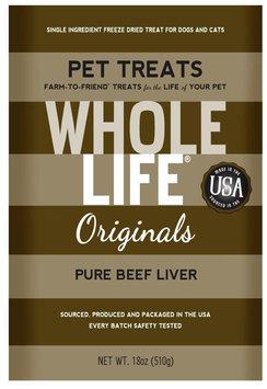 Whole Life Originals Pure Meat 100% Beef Liver Treats