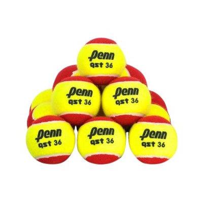 Penn QST 36 Felt Red Tennis Balls