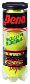 Penn Championship Regular Duty Tennis Balls - 24 Can Case