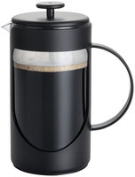 BonJour 3-Cup Ami-Matin Unbreakable French Press, Noir Black