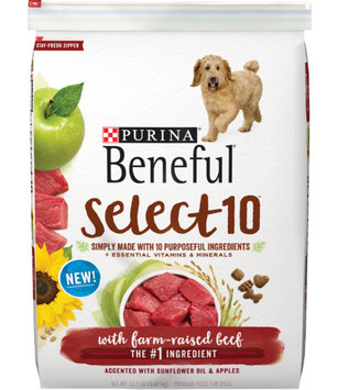 Beneful Dry Dog Food Select 10 With Real Beef