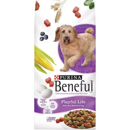Beneful Dry Dog Food Playful Life With Real Beef And Egg