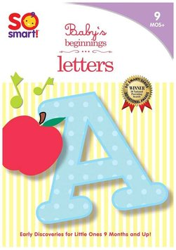 Bayview Entertainment BAY460 SO SMART BABYS BEGINNINGS - LETTERS