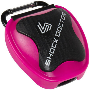 Shock doctor anti-microbial mouthguard case - Pink