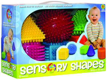 Hedstrom Sensory Shapes - Assorted Colors & Shapes 6 Pack