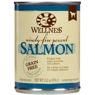 Phillips Feed & Pet Supply Wellness 95% Salmon Canned Dog Food (12/13.2-oz cans)