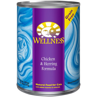 Old Mother Hubbard Wellness Chicken & Herring Formula Canned Cat Food (12/12.5-oz cans)